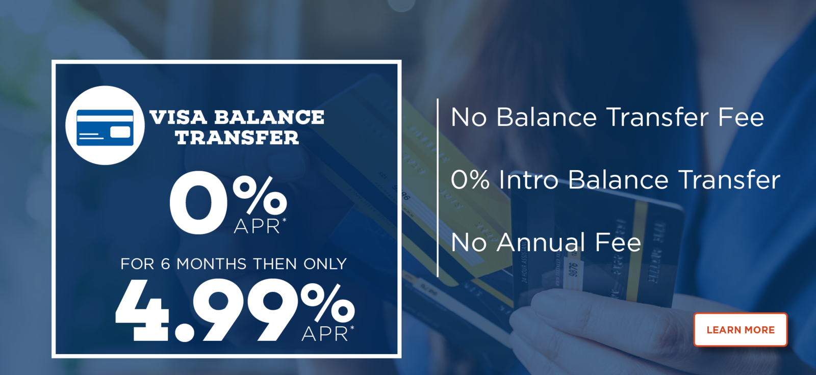 Visa Credit Card Balance Transfer Intro Offer